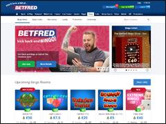 BetFred Bingo Lobby